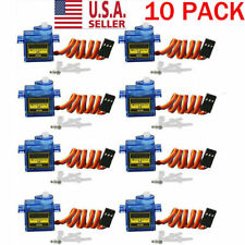 10pc 9G SG90 Micro Servo Motor For RC Robot Helicopter Aircraf Airplane Car Boat