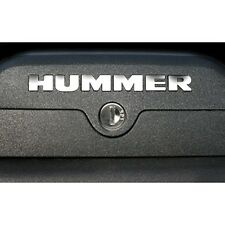 2006-2010 GMC HUMMER H3 Roof Rack Vinyl Letters Chrome Inserts Stickers Trim Kit