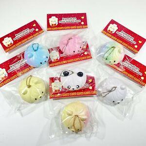 Bunny's Cafe Kumatan Mini Steam Bun Squishy