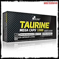 Olimp Taurine 1500mg Mega Caps 120 caps amino acids energy & strenght booster