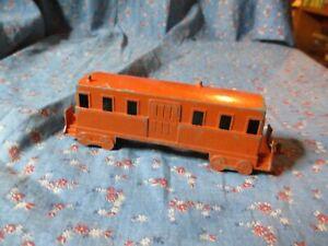 "Older Midgetoy Railroad Train Passenger Car (Includes Couplings) 4 3/4"" Long"