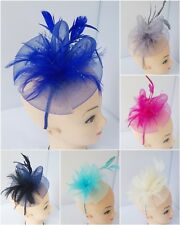 Flower Headband and Clip Fascinator Weddings Ladies Day Race Royal Ascot Party