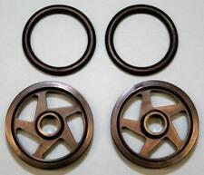 RJ Speed O-Ring Wheels 1.5  Black (2) 2501
