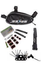 Bicycle Repair kit Bag & Bicycle Tire Pump, Bike Tool Portable Patches, US STOCK