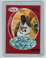 """1998-99 SAGE ROBERT """"TRACTOR"""" TRAYLOR A44 ROOKIE AUTO 228/999 MICHIGAN RIP"""