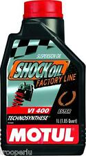 MOTUL MOTORCYCLE FACTORY LINE SHOCK OIL VI400 1 LITRE 16-615-01
