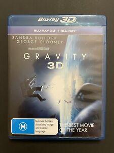 GRAVITY 3D Blu-ray Double Region B MOVIE ~ George Clooney