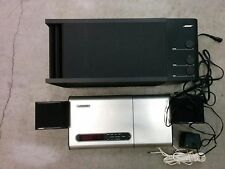 Bose Lifestyle Model 5 CD player and Acoustimass 3 Powered speak system