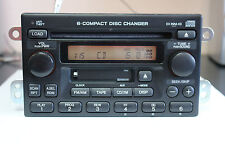 TESTED w/Code Honda CR-V 2005 6-disc in-dash CD Cassette player changer 1TN2