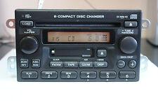TESTED w/Code Honda CR-V 2005 6-disc in-dash CD Cassette player changer 1TN2