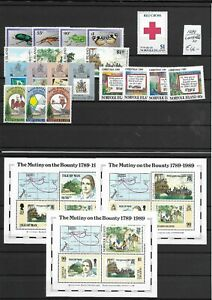 NORFOLK ISLANDS  @ Year 1989   Complete MNH @ @ Norf.5
