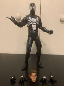 Marvel Legends Spider-Man Symbiote Suit Black Costume 12 Inch Action Figure