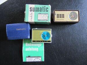 Alte Reiseuhren Sumatic und EMES Sonochron