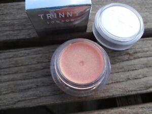 BNIB TRINNY LONDON Lip2Cheek SHEER SHIMMER Blusher Lipstick BUNNY (Champagne)