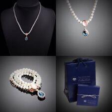 Modeschmuck-Halsketten & -Anhänger aus Perlen Legierung