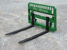48 4000 Pound Pallet Forks Attachment Fits John Deere Tractor Global Loader