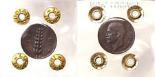 5 CENTESIMI 1919 SPIGA VITTORIO EMANUELE III REGNO D'ITALIA BB+ VF+ RARO #P202