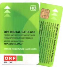 ORF Digital Sat-Karte HD - Neu und 5 Jahre Aktiv bis 2023