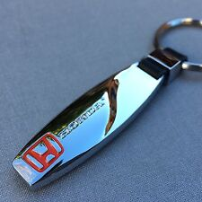 NEW HONDA LOGO METAL CHROME KEYCHAIN KEY-CHAIN Key Ring KC04