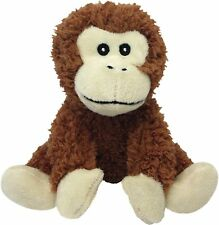 Multipet Look Whos Talking Monkey Plush Dog Toy Free Shipping