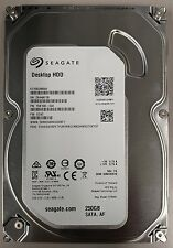 pack of 5 x Seagate 250gb 7200RPM SATA DESKTOP HDD