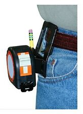Tape Measure Pants Belt Clip w/ Pencil Holder Heavy Duty Daily Use Construction