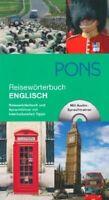 PONS Reisewörterbuch Englisch: Reisewörterbuch und Sprac...   Buch   Zustand gut