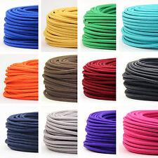 Textilkabel Stoffkabel 3-adrig Lampen-Kabel Stromkabel Elektrokabel Verlängerung
