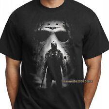 Jason Voorhees T Shirt Friday The 13th Horror Movie Film Killer Men's Black Tee