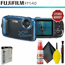FUJIFILM FinePix XP140 Digital Camera (Sky Blue)  + Extended Warranty