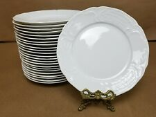 LOT OF TWENTY FOUR (24) Rosenthal Sanssouci White Salad Plates 8""
