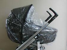 NUOVO Parapioggia con zip per adattarsi Bebe confort Loola Seat Unità & CULLA PORTATILE carrozzina