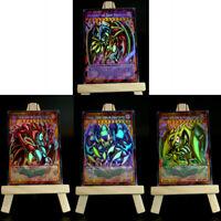 Yugioh ORICA 4x-Set: Toon Sacred Beasts (HOLO) Full-Art | Raviel Hamon Uria