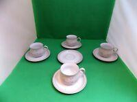 Denby Coloroll Tasmin 4 Cups & 5 Saucers