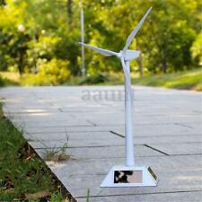 Plastics Model-Solar Powered Windmill Wind Turbine Desktop Decor Science Toy New