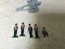 Britain's toy soldiers Royal Artillery Field gun and crew
