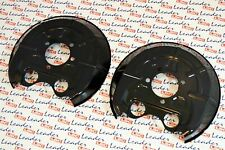 GENUINE Vauxhall Signum / Vectra C - 2x Rear Brake Disc Shields - 13168748/9 NEW