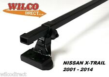 Roof Rack Bars Nissan X-Trail Includes Sport 2001-2014 MONT BLANC 75KG ROOF BAR