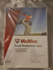 McAfee Total Protection 2011 3 PCs or Netbooks