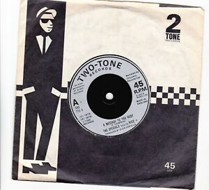 """The Specials Ft Rico A Message To You Rudy-Nite Klub Two-Tone SKA 7"""" 45 TT5 1979"""