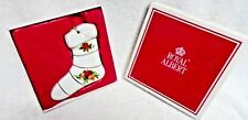 Royal Albert Old Country Roses Christmas Stocking Ornament  In Box