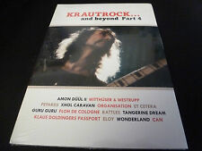 DVD.KRAUTROCK 4.AMMON DUUL II.PETARDS.GURU GURU.TANGERINE DREAM.ELOY.CAN.PASSPOR