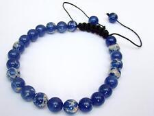 Men's Bracelet all 8mm Impression Jasper gemstone natural beads