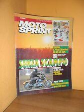 MotoSprint - n° 1 - 1/7 Gennaio 1992 - Harley Davidson XLH 883 Sportster Deluxe