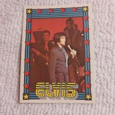 1978 Monty Gum - ELVIS PRESLEY - Club Card From Holland - (Blank Back) - Card #5