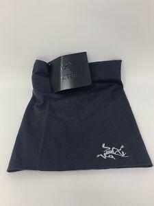Arc'teryx Unisex LTW RHO Lightweight Wool Neck Gaiter Dark Gray One Size NWT!