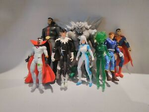 DC Prelude Doomsday Collection Ice Fire Superman Gardner Crisis Rare figure