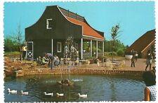 Outdoor Cafe at Dutch Village Holland MI Michigan  Postcard