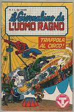 IL GIORNALINO DE L'UOMO RAGNO corno N.2 TRAPPOLA AL CIRCO medusa spidey for kids
