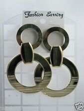 F100:New Fashionable Earrings from USA-Gold Tone-Made in Korea